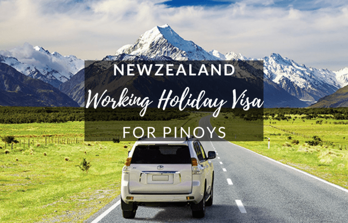 New Zealand Working Holiday Visa for Pinoys