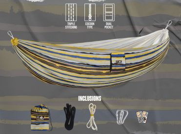 Lazy Hitchhiker hammock Minion Design