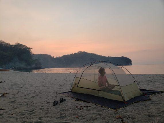 Ansarap talaga pag solo mo yung campsite! Worth it ang bayad sa bangka.