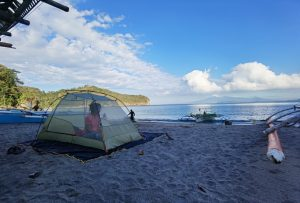 Waking up to a peaceful morning in Kaynipa Beach