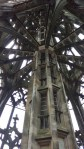 inside the steeple of the Ulmer Muenster