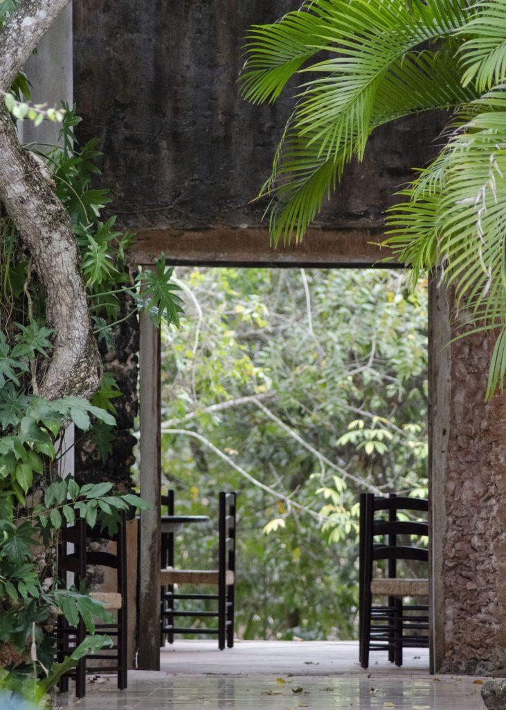 Outdoor restaurant Hacienda Ochil