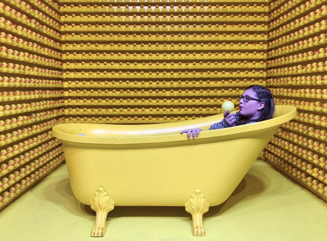 Happy Place Vegas bathtub