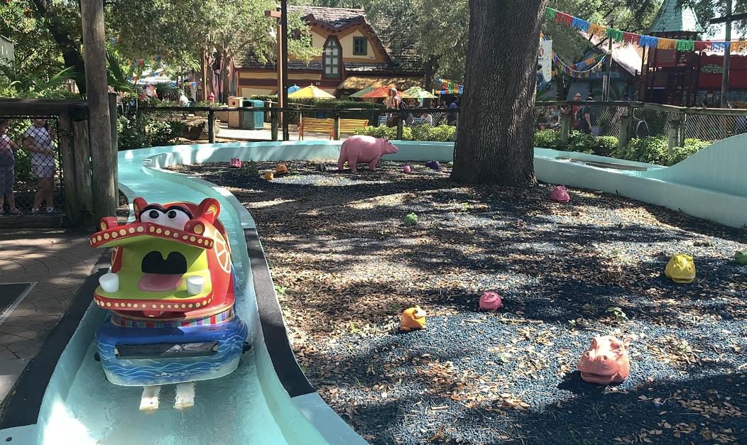 Hippo Water Ride Busch Gardens