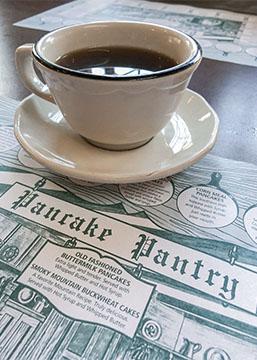 Pancake Pantry Coffee and Menu Gatlinburg TN