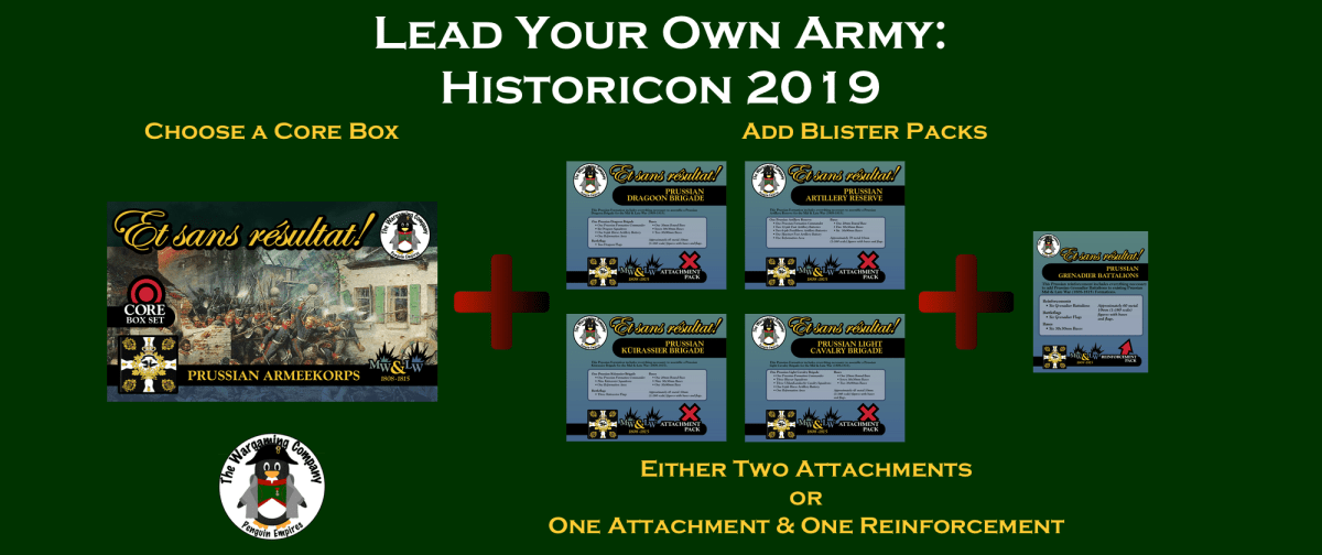 Guidelines for 'Lead Your Own Army' Historicon 2019