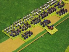 06. French right flank columns hit home
