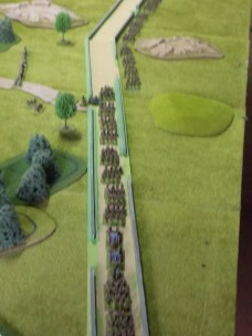 19g. Birds eye view of the German advance