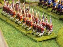 018 British Grenadiers march into action