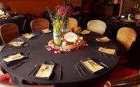 Seated Dinner Amor Centerpiece