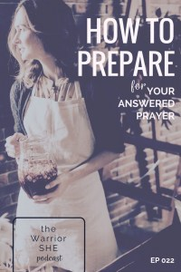 Prepare for God to Answer Your Prayer