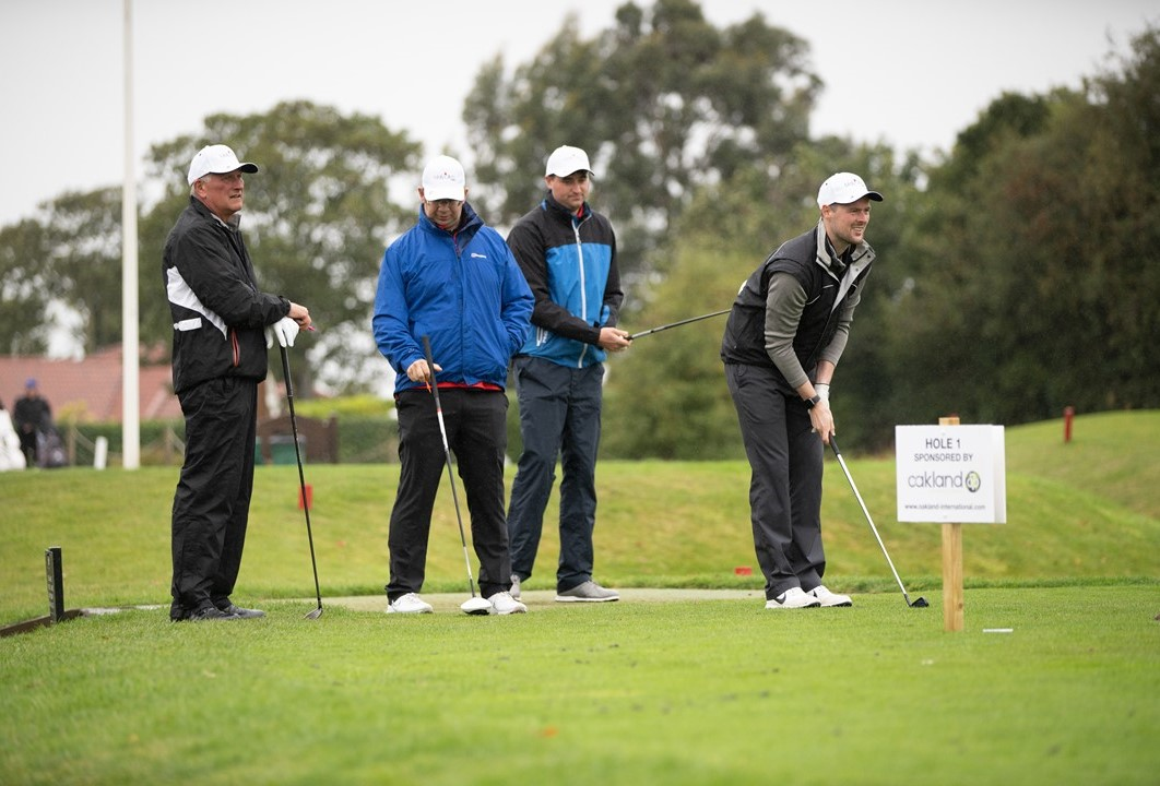 Molly Olly's Wishes, charity golf day, Oakland International
