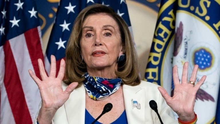 Nancy Pelosi Hints At Ousting Trump As President Less Than A Month From The Election