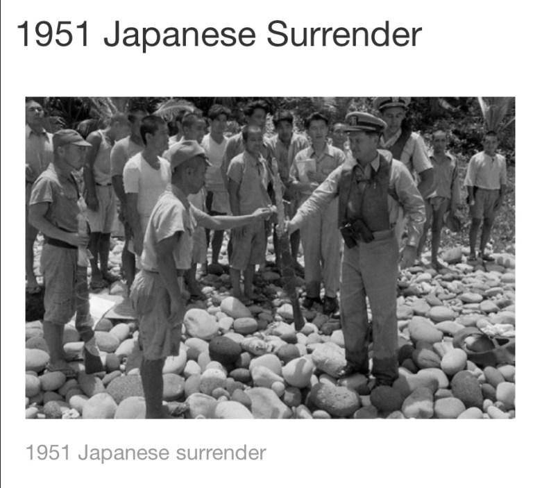 1951  Japanese Surrender