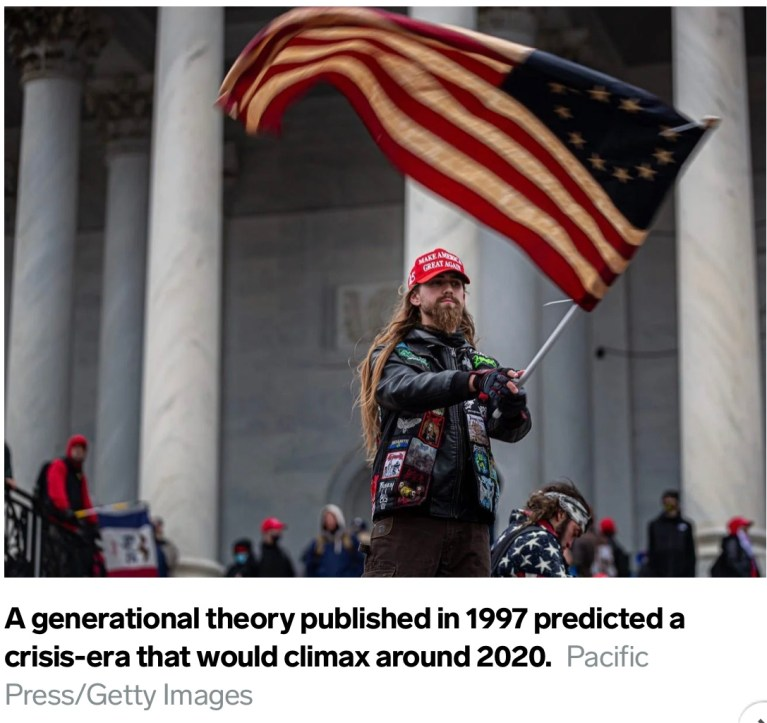 A grim theory predicted the protests and pandemic crises of 2020