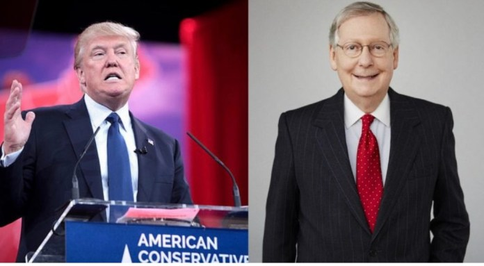 Trump Unloads on 'Dumb SOB' McConnell & His GOP Enemies at Closed-Press RNC Dinner