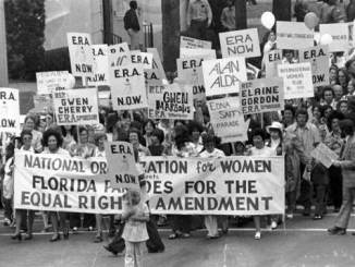 1975 March for the ERA from Governor's mansion