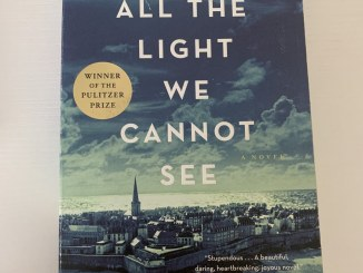 """Book cover of """"All the Light We Cannot See"""""""