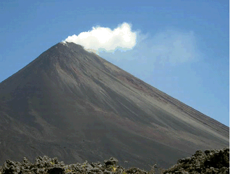 In a bulletin issued on December 28, 2012 by CONRED, three explosions have been recorded at the Pacaya volcano, Guatemala, with ash seen up to 3 km above sea level.  Experts advised that Pacaya's strombolian type of activity will continue in the coming days or weeks, causing explosions in the crater and possible lava flows. This is considered as normal for Pacaya. After being dormant for a century, it erupted violently in 1965 and has been erupting continuously since then. According to classification, Strombolian volcanoes are characterized by a regular or constant explosions throwing pasty lava and are accompanied by lava flows...