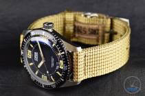 Oris watch and strap facing the left - Oris Divers Sixty-Five: Hands-On Review [01 733 7707 4064-07 5 20 22]