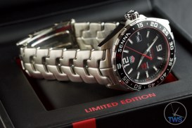 Senna Special Edition waz1012.ba0883 Watch Unboxing Review - Watch sitting on top of presentation box
