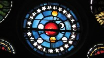 Sun, Moon, Stars & Planets (probably William Morris or Edward Burne-Jones)