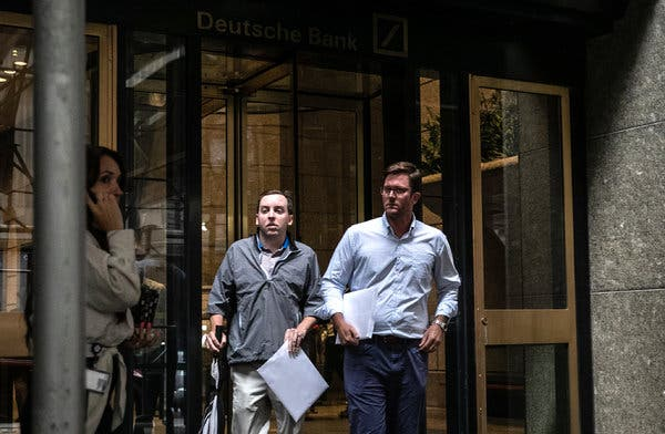 Deutsche Bank Layoffs Begin as Workers Feel Turnaround Plan's Impact First