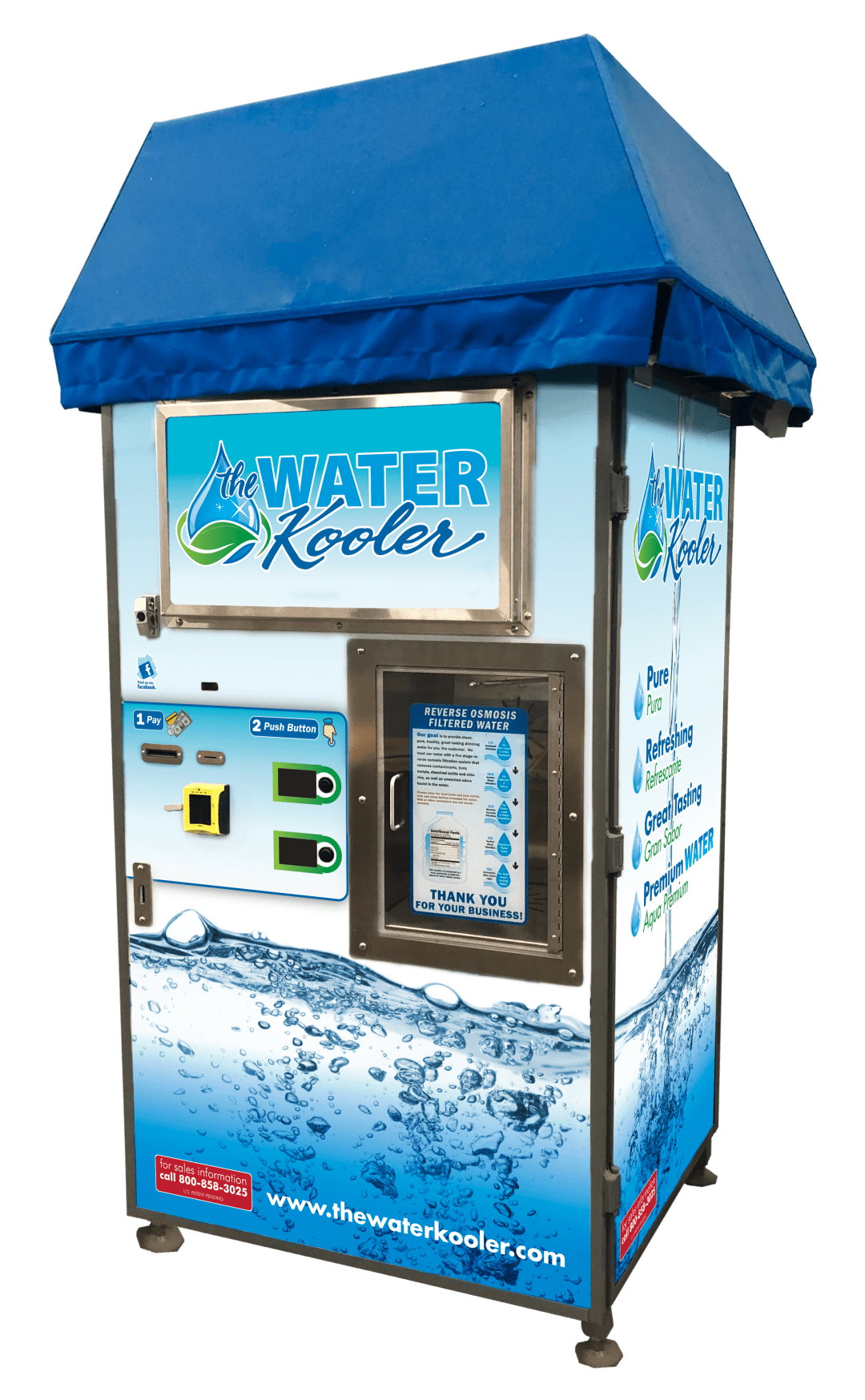 Water Kooler water vending machine