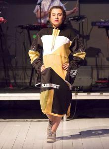 Designer- Hilda Jansson, Fashion UP! 2017 Foto- Peter Håkansson