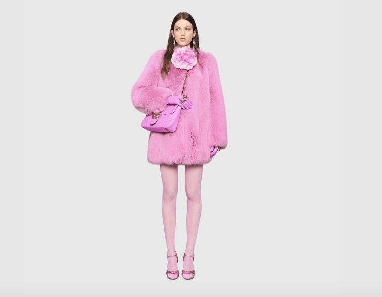 Gucci faux fur A/W 17
