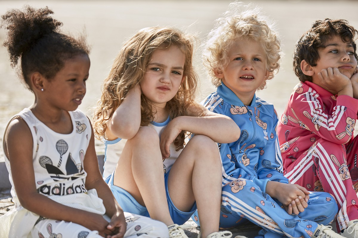 6addbc41c3e7 Swedish children s wear brand Mini Rodini is doing a yearlong global  collaboration together with adidas Originals. All releases are filled with  limited ...