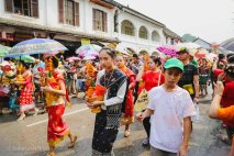 Not just water-throwing: Pii Mai festivities also include some parades through town.