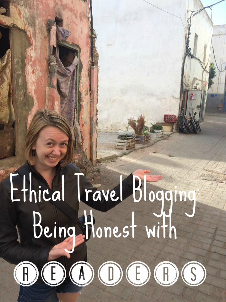 ethical travel blogging