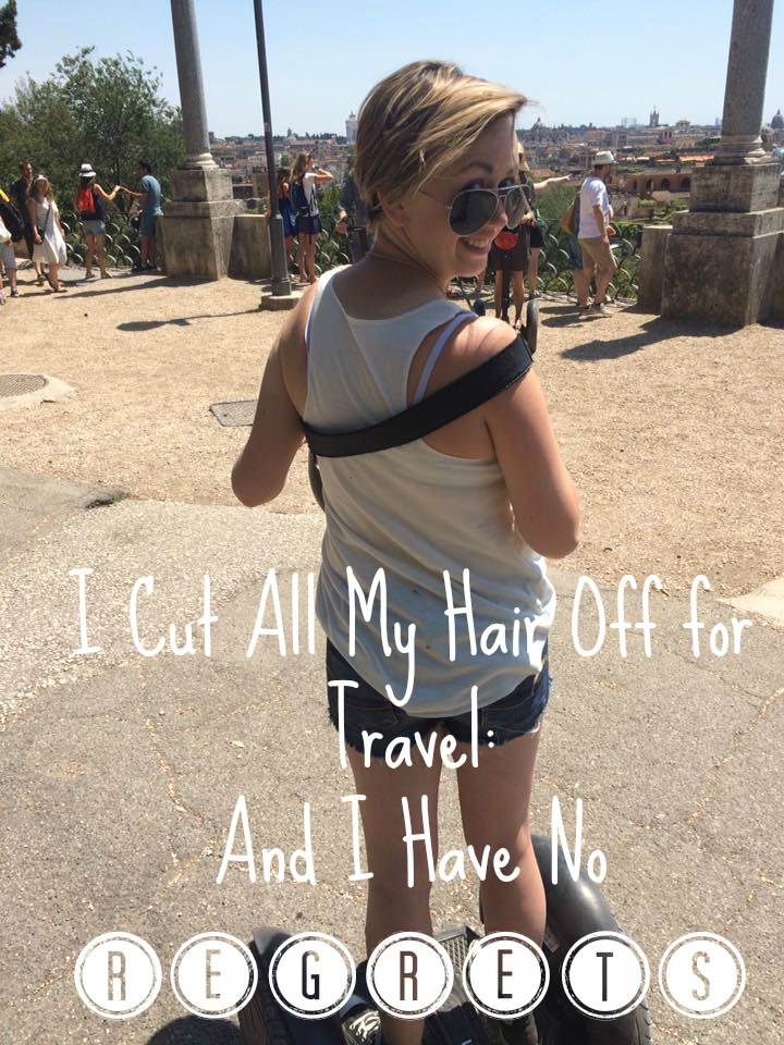 hair off for travel