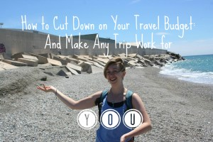 cut down your travel budget