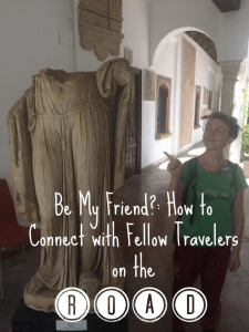 connect with fellow travelers