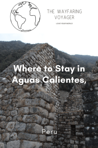 where to stay in aguas calientes