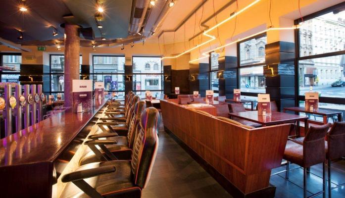 The bar area. (C) Café Aumann.