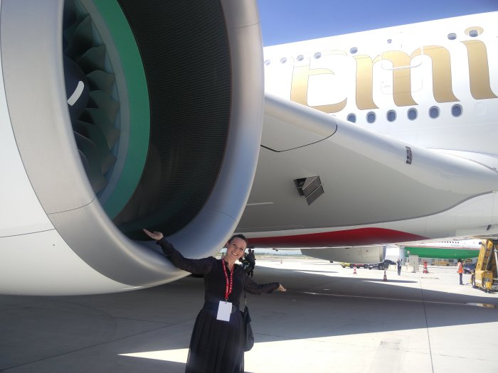 Me and the A 380