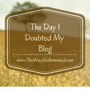 DayIDoubtedMyBlog