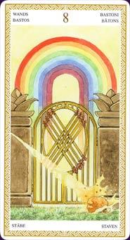The Door Unlocked: The Eight of Wands