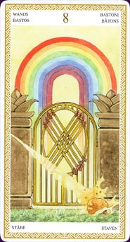 The Door Unlocked: The Eight of Wands