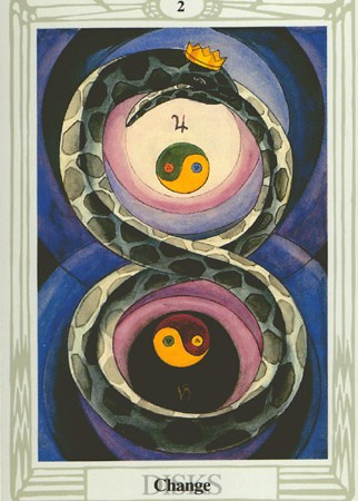 Ch-ch-ch-changes Two of Disks (Pentacles)