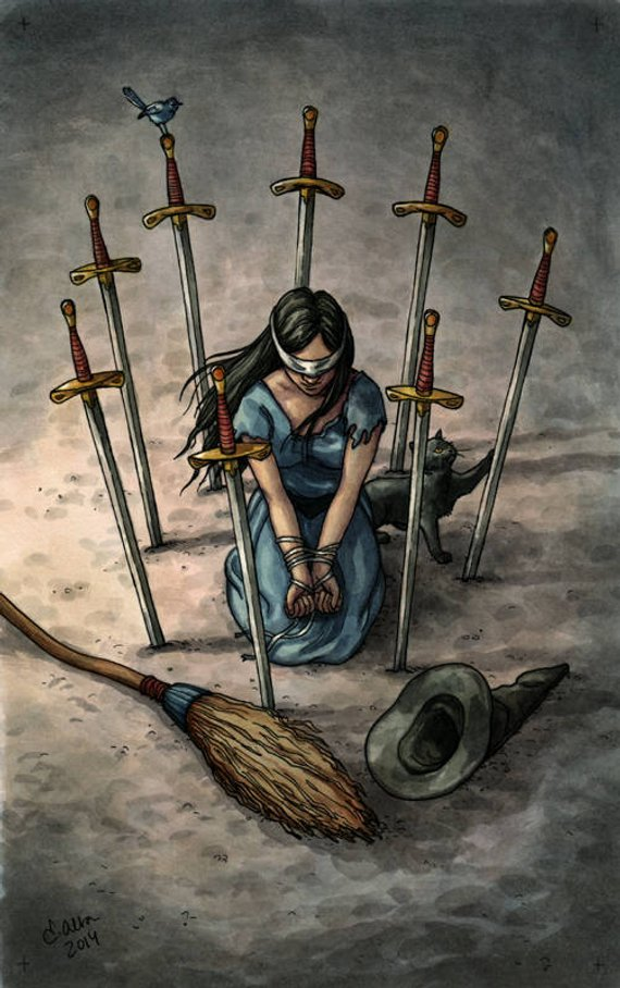 The Eight of Swords – Freeing the Hostage