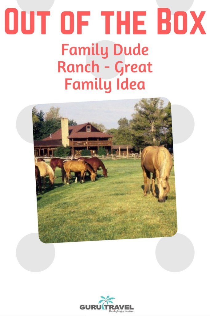 Family Dude Ranch Vacation