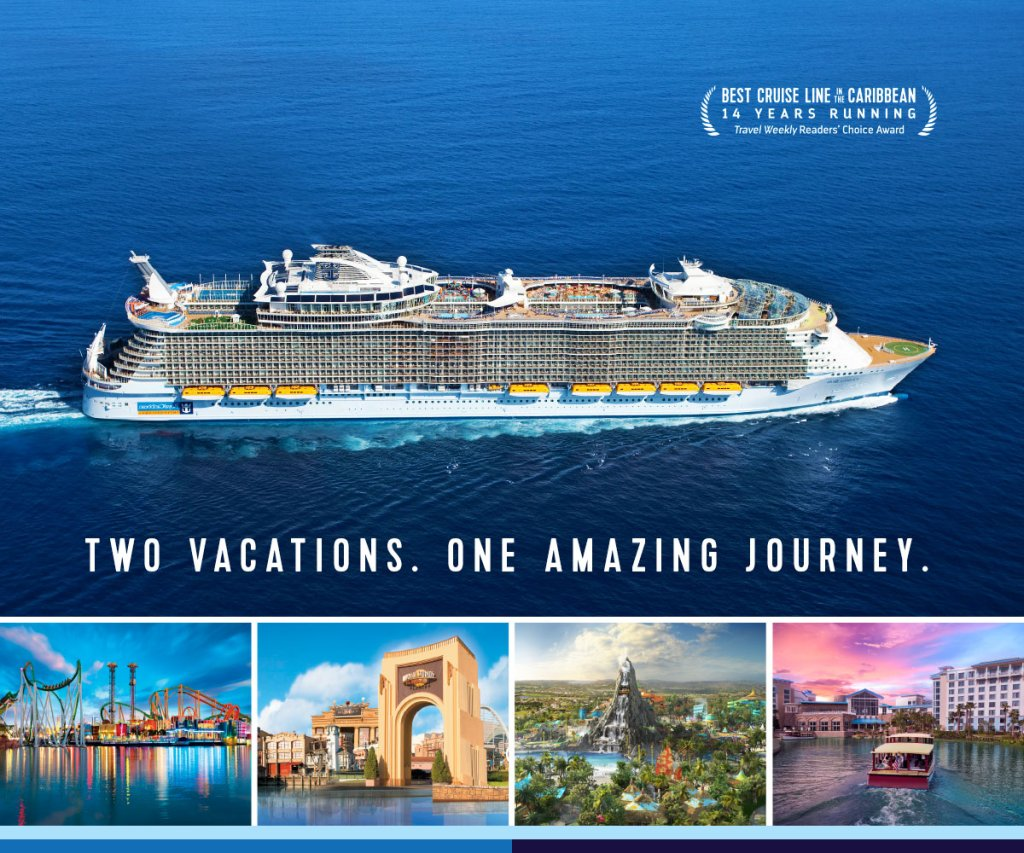 Royal Caribbean and Universal Orlando