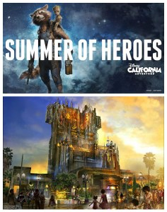 GUARDIANS OF THE GALAXY – MISSION: BREAKOUT! OPENS MAY 27 WITH SUMMER OF HEROES AND MORE AT DISNEY CALIFORNIA ADVENTURE PARK