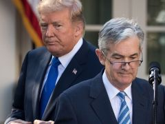 Trump says Fed is his 'biggest threat' because it is raising rates too fast