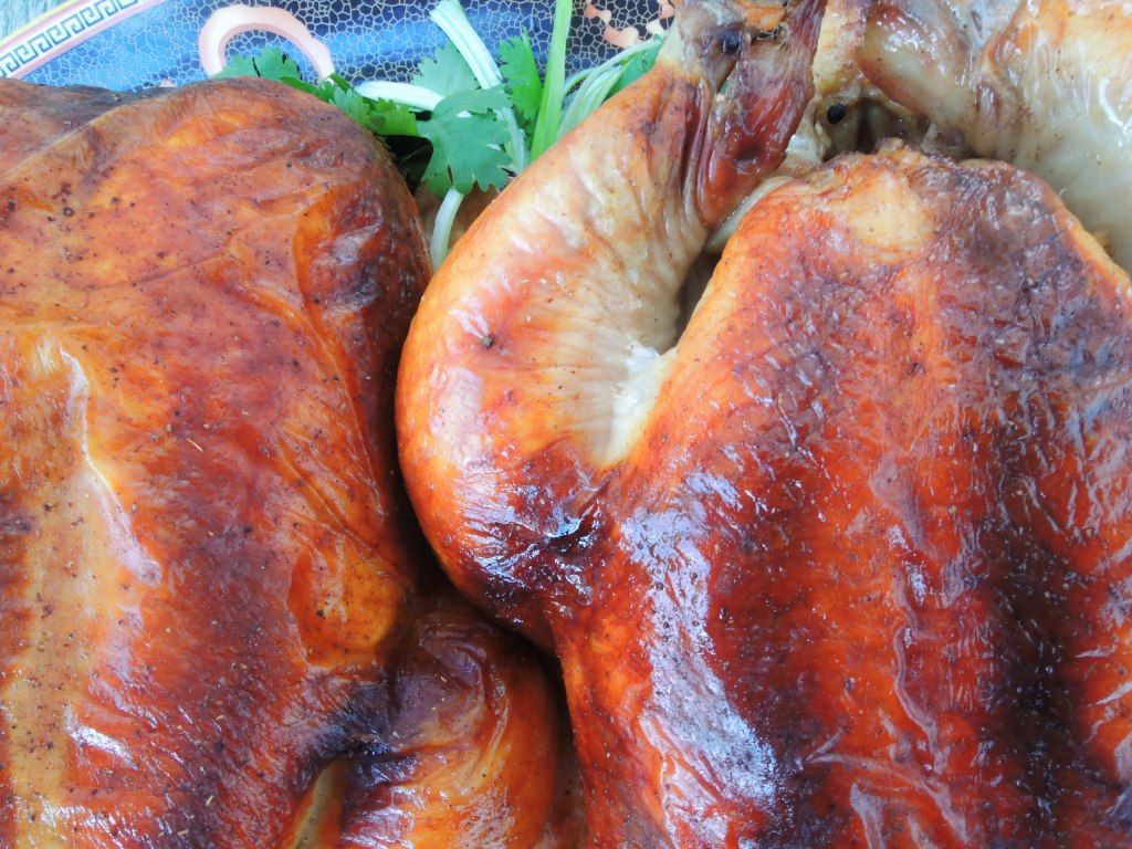 Chicken, roasted (whole) chicken with five spice lacquer 2