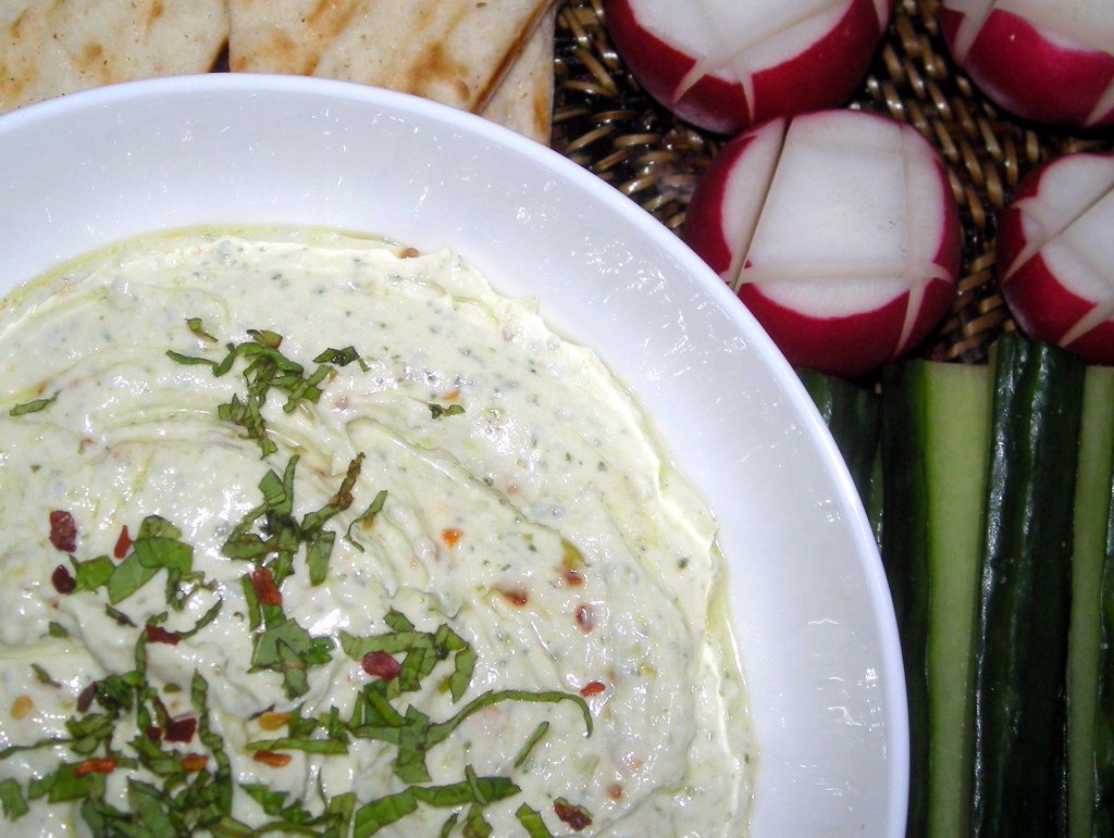 Appetizers, dips and spreads, kopanisti (Greek feta spread) 2
